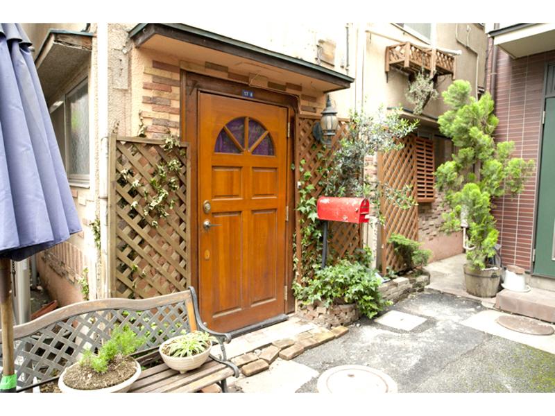 Asagaya front door